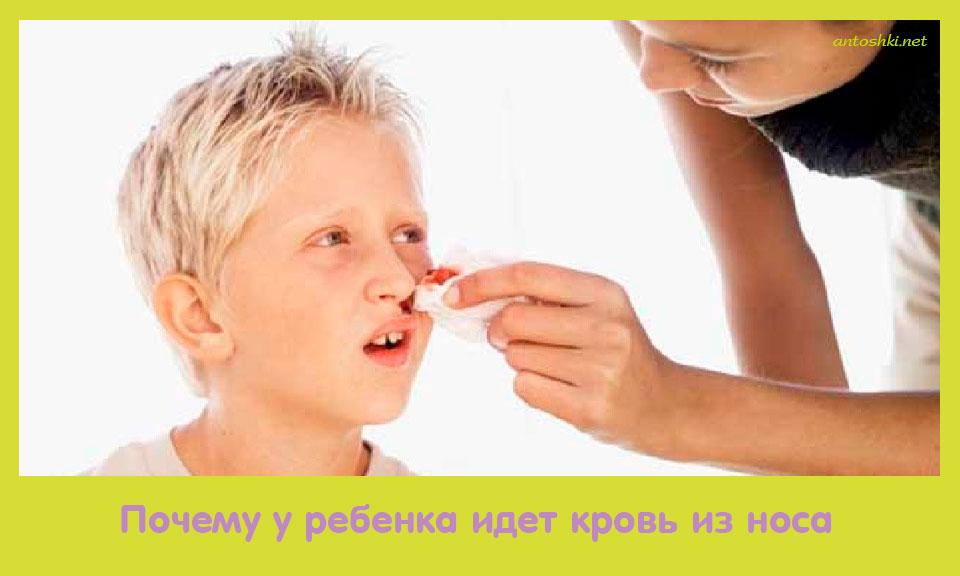почему, ребенок, идти, кровь
