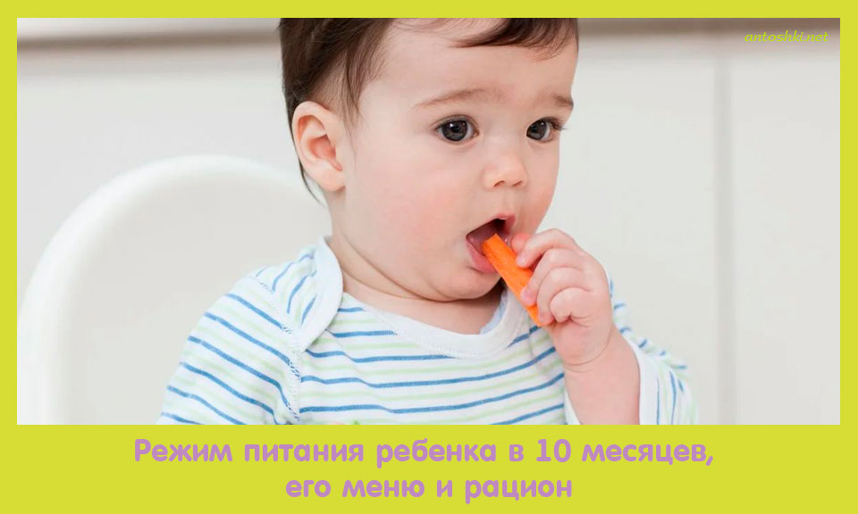 режим, питание, ребенок, месяц, меню