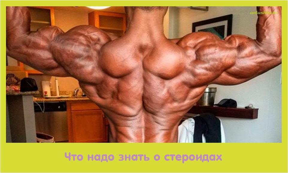 надо, знать, стероидах