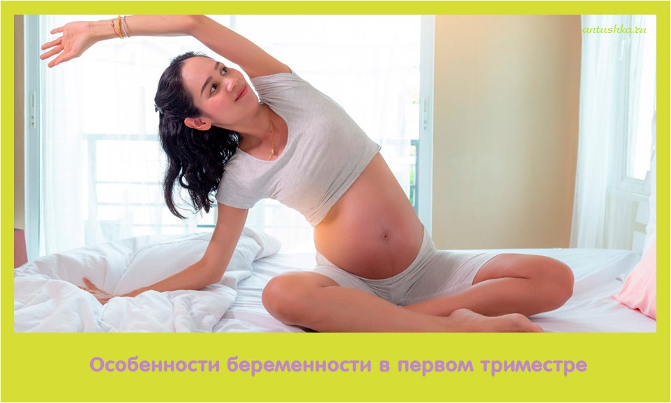 особенность, беременность, первое, триместр